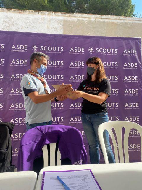 La Federación Scout de Exploradores de Murcia concede el I Premio Huellas a D´Genes por su labor en favor de las personas con enfermedades raras