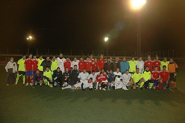 La Peña Madridista La Décima se proclama campeón del II Torneo Triangular de Navidad Interpeñas, Foto 1
