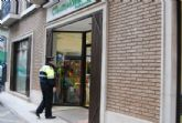 Los vecinos de Totana realizan sus Compras Seguras de Reyes gracias al dispositivo especial de seguridad