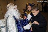 Los Reyes Magos recogen personalmente las cartas con las ilusiones y deseos de cientos de niños y niñas
