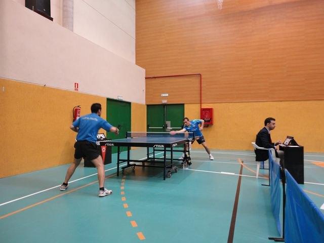 Torneo Subestatal de Madrid de Tenis de Mesa, Foto 2