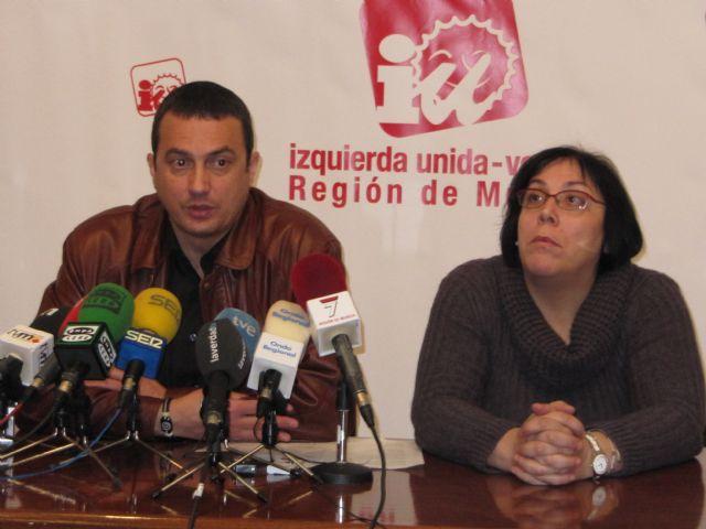 IU concurrirá a las elecciones con la denominación ´Izquierda Unida-Verdes de la Región de Murcia´, Foto 2