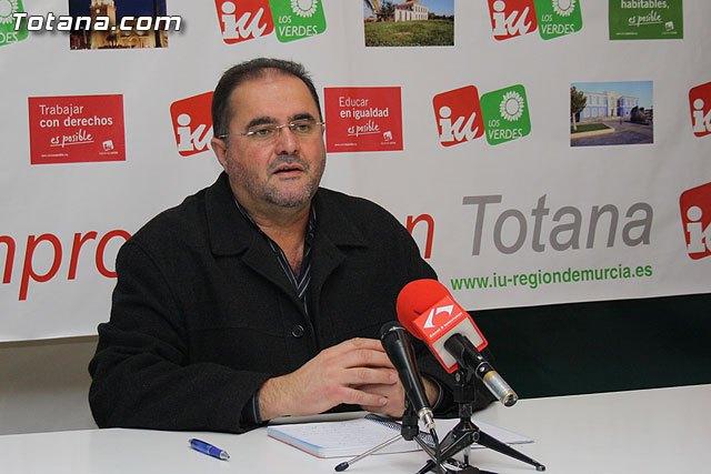 Cánovas exige al PP en Murcia que adopte medidas para frenar el deterioro y la ruina del Ayuntamiento de Totana, Foto 1