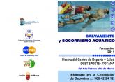La concejalía de Deportes organiza un nuevo curso de salvamento y socorrismo acuático