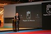 Valcárcel afirma que la Región lo tiene todo para que su visita resulte tan obligada como inolvidable