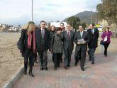 El MARM invertirá más de 1,2 millones de euros en las obras del paseo marítimo Bolnuevo en Mazarrón