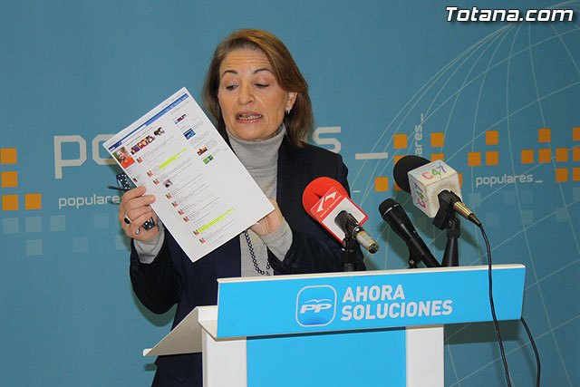 Rueda de prensa PP Totana 02/02/2011, Foto 1