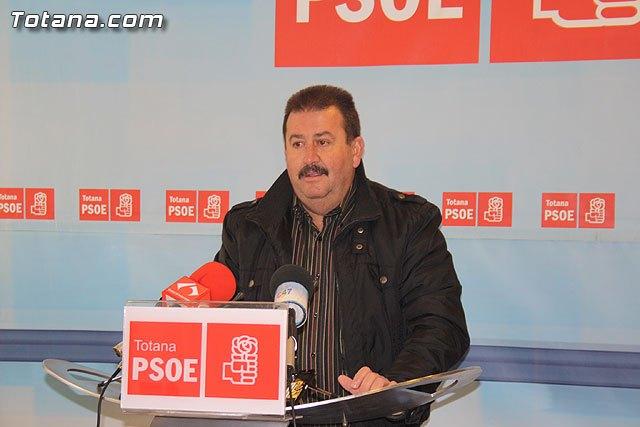 Rueda de prensa PSOE Totana sobre empleo, Foto 1