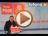 Rueda de prensa PSOE Totana sobre empleo