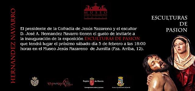 """El grupo escultórico Coronación de Espinas de Totana también participará en la exposición """"Hernández Navarro: Esculturas de pasión"""", Foto 3"""