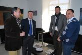 El alcalde y el concejal de Deportes se reúnen con el director general de Deportes