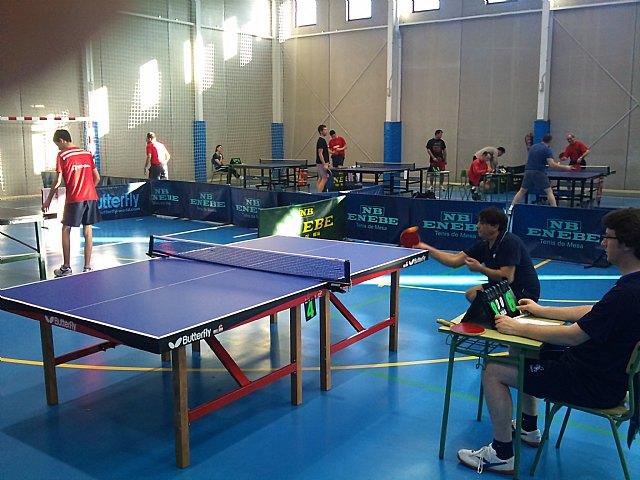 Tenis de mesa. 2ª division nacional. Gran partido de la Peña Barcelonista en Beniganim, Foto 2
