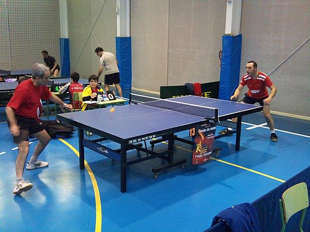 Tenis de mesa. 2ª division nacional. Gran partido de la Peña Barcelonista en Beniganim, Foto 3