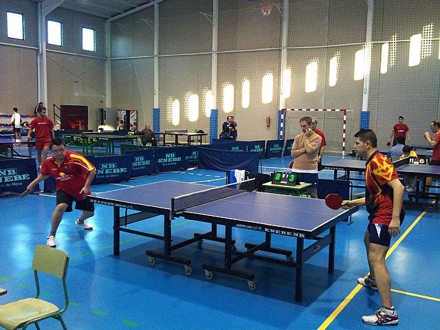Tenis de mesa. 2ª division nacional. Gran partido de la Peña Barcelonista en Beniganim, Foto 4