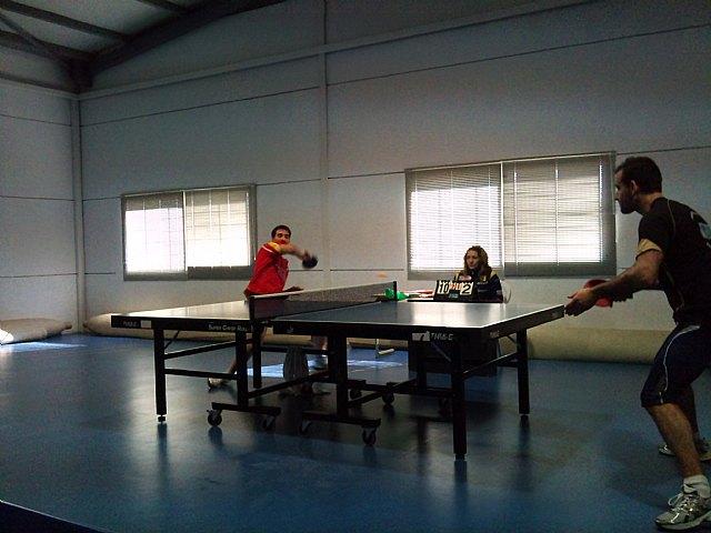 Tenis de mesa. 2ª division nacional. Gran partido de la Peña Barcelonista en Beniganim, Foto 5