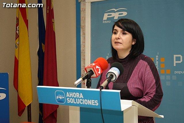El PP de Totana afirma que la reforma de las pensiones supone un nuevo recorte del gobierno socialista, Foto 1