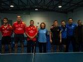 Tenis de mesa. 2ª division nacional. Gran partido de la Peña Barcelonista en Beniganim
