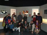 Los usuarios del servicio municipal de apoyo psicosocial visitan el Museo Arqueológico de la Región de Murcia