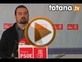 Rueda de prensa PSOE Totana sobre la campaña Cumpliendo, avanzamos todos juntos
