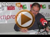 Rueda de prensa IU Totana. Actualidad política. 11/02/2011
