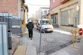 La concejalía de Planificación lleva a cabo las obras para la finalización del adoquinado de la calle Macario