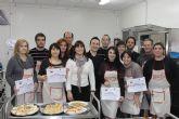 Se clausura un curso de cocina y da paso a otro para el mes de marzo