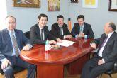 Primera reuni�n del equipo de Gobierno de Alhama con Proyectos Emblem�ticos de la Regi�n de Murcia
