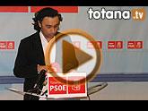 Rueda de prensa PSOE Totana sobre presupuestos