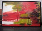 La pintora totanera María Dolores Victoria expone su obra en la muestra Color es vida