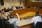 IU: El Ayuntamiento de Totana, con los 13 votos del PP, se personará como acusación particular contra Morales en el Caso Tótem