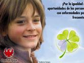 Guillermo Campra (Alonso de Montalbo), será el protagonista de la cena del Día Mundial de las Enfermedades Raras
