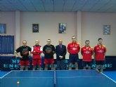 Tenis de mesa. 2ª division nacional. Contundente victoria de la Peña Barcelonista 6-0.