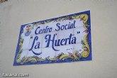 El PSOE denuncia que el local social de la Huerta está en pésimas condiciones 9 meses después de su inauguración