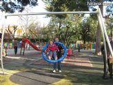 Doscientos niños con discapacidad disfrutarán de los dos parques adaptados que el ayuntamiento ha instalado - 3