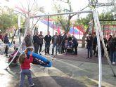 Doscientos niños con discapacidad disfrutarán de los dos parques adaptados que el ayuntamiento ha instalado - 10
