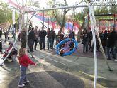 Doscientos niños con discapacidad disfrutarán de los dos parques adaptados que el ayuntamiento ha instalado - 12