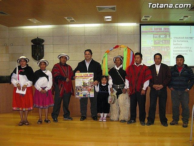 La Asociación Cultural Cañarmanta y la Asociación Fae organizan el Carnaval Cañari 2011 (Paukar Raymi), Foto 1