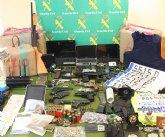 Detenidos por la Guardia Civil en Alicante 11 miembros de una organización que robaba a traficantes de droga
