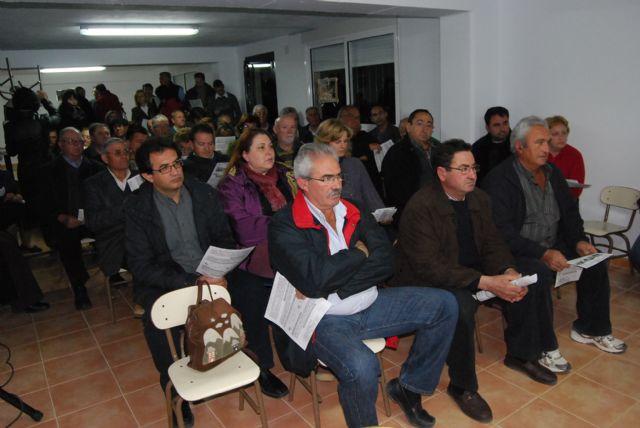 El equipo de Gobierno hacen balance las actuaciones municipales que se han llevado a cabo en La Charca, La Huerta, La Sierra, Viñas-Carivete y Mortí, Foto 4