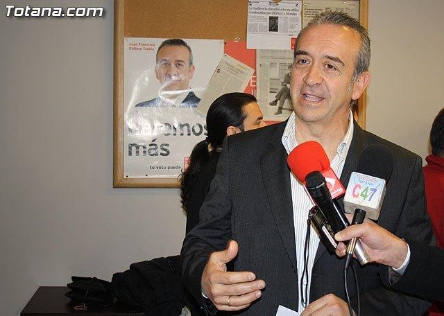 La Comisión Ejecutiva de la Agrupación local de Juventudes Socialistas, apoya a Juan Francisco Otálora como candidato a la alcaldía de Totana, Foto 1