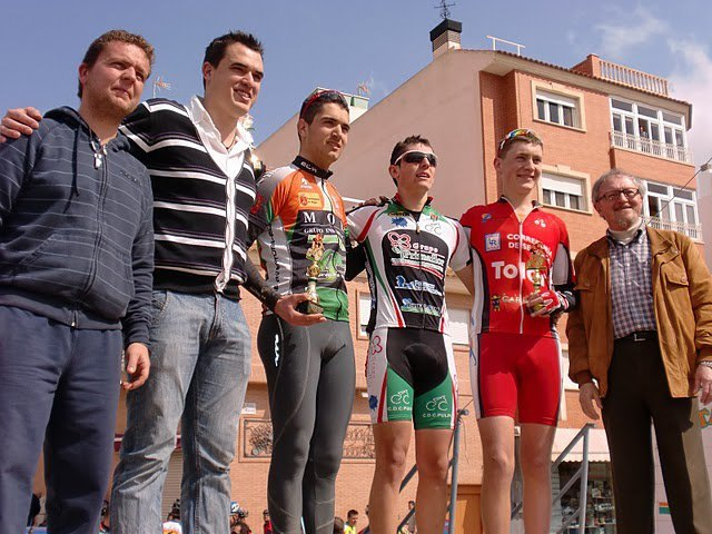 Pedro Moreno, del Club Ciclista Santa Eulalia, sube de nuevo al podium junior en la III Marcha MTB de Mazarrón, Foto 1