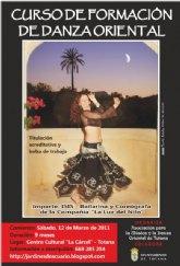 El próximo sábado 12 de marzo comienza un curso de danza oriental