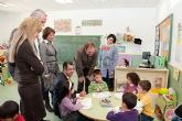 Sotoca visita el CEIP Infanta Leonor