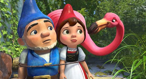 "The programming of the film continues this weekend with the screening of the Disney film ""Gnomeo and Juliet"" - 1"
