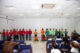 Los escolares participan en el ´Festivial´