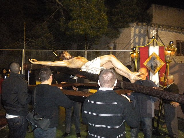 Via Crucis penitential organized by the Brotherhood of Jesus on Calvary and Holy Supper - 1