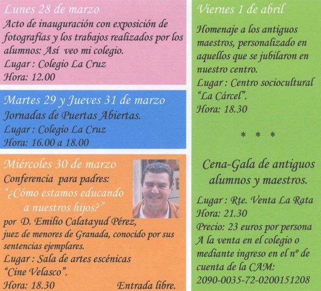 "The ""Colegio La Cruz de Totana celebrates its 65th anniversary - 2"
