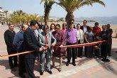 La Comunidad pone a disposición de vecinos y turistas dos nuevos paseos marítimos en Puerto de Mazarrón