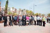 Blaya y Ballesta inauguran los paseos marítimos de Mazarrón