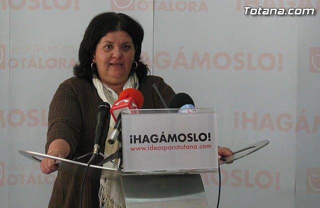Rueda de prensa PSOE Totana. Valoración Pleno marzo 2011, Foto 2